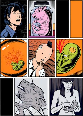 TÓXICO, de Charles Burns » Serie de viñetas. Blog sobre cómics de ...