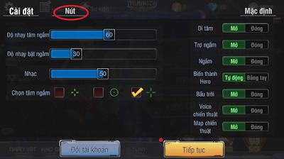 Hướng dẫn cài đặt nút game truy kích mobile