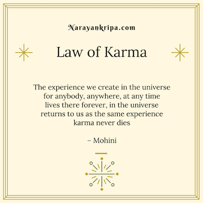 Text Image for April Poetry Month Day 17 Poem: Law of Karma
