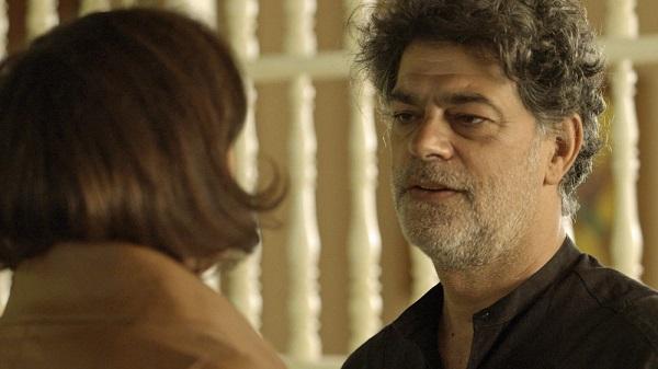 Murilo fica sem reação com pergunta de Valentina (Imagem Reprodução/ TV Globo)