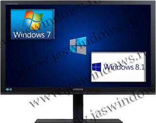 Загрузка. Windows 8.1 и Windows 7 на 2 разных жестких диска.