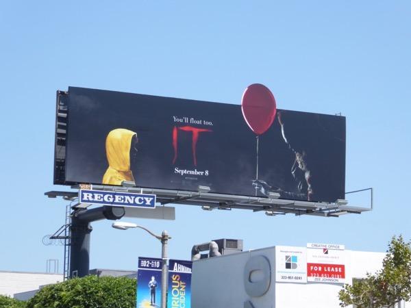 IT movie remake billboard
