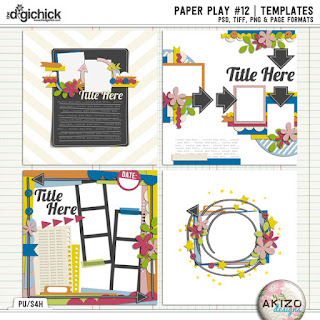 Paper Play12 by Akizo Designs