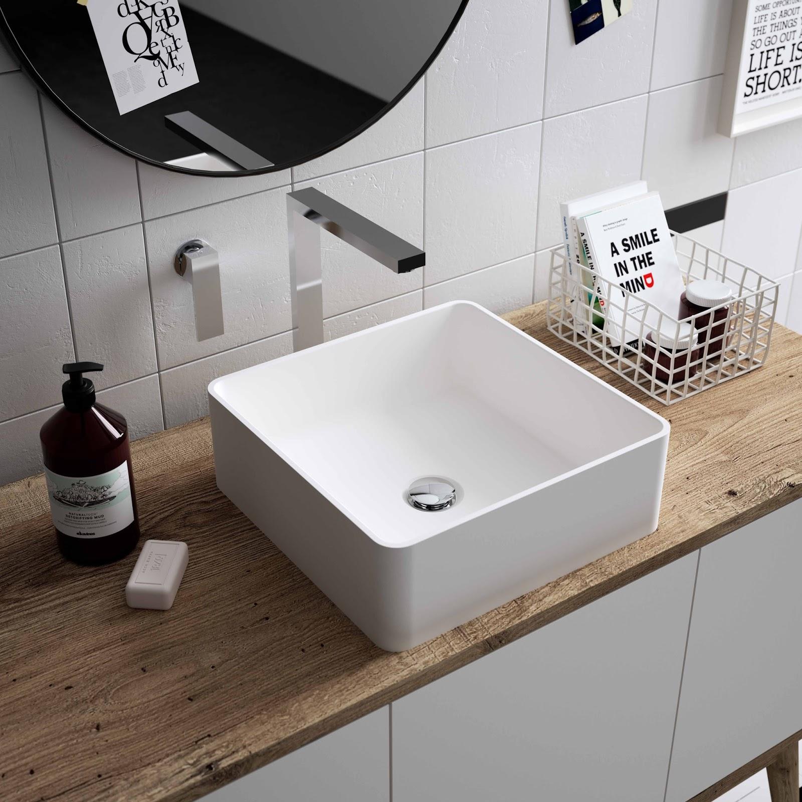 Nuevos lavamanos de hi macs arquitectura y dise o los - Lavamanos de diseno ...
