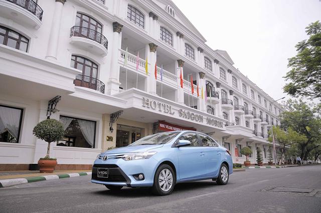 Toyota Vios 2015 E số sàn được rất nhiều người tin tưởng đầu tư chạy xe taxi