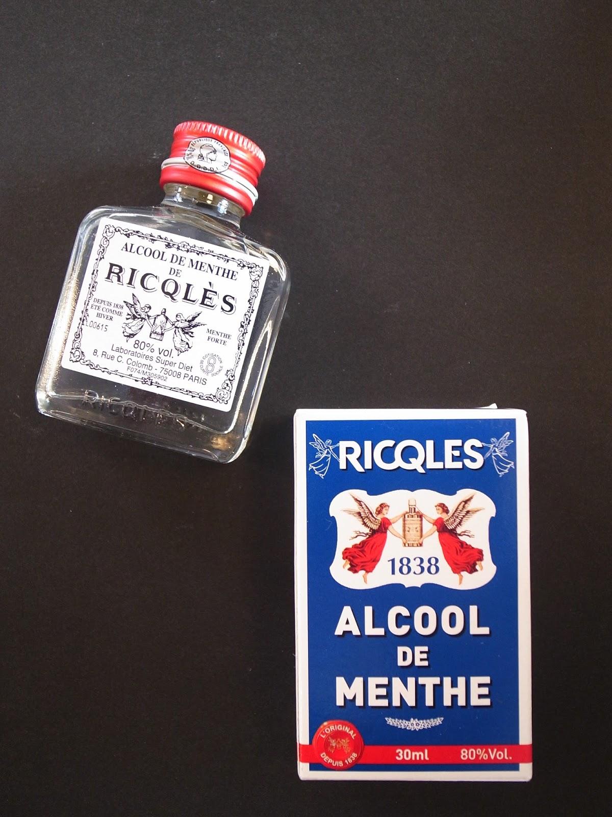 Arrondissement alcool de menthe ricql s for Alcool de menthe fait maison