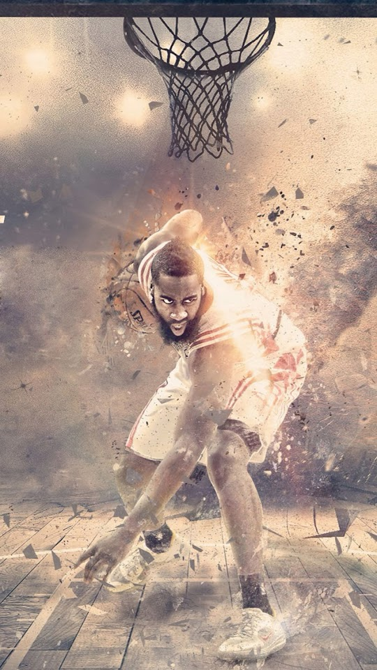 James Harden   Galaxy Note HD Wallpaper