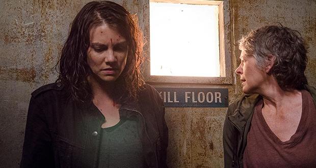 Maggie y Carol en el 6x13 de 'The Walking Dead'