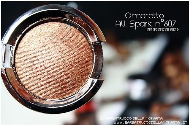 ombretto all spark gold review libre professional makeup