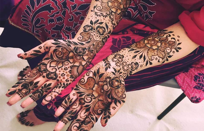 Wedding Mehndi Designs for Hands
