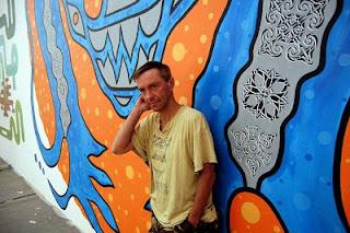 Baedeker dzki mural przy pogonowskiego 12 kondek i for Mural alternatywy 4