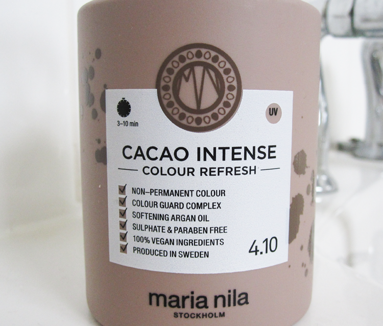Maria Nila Cacoa Intense Colour Refresh Shampoo review