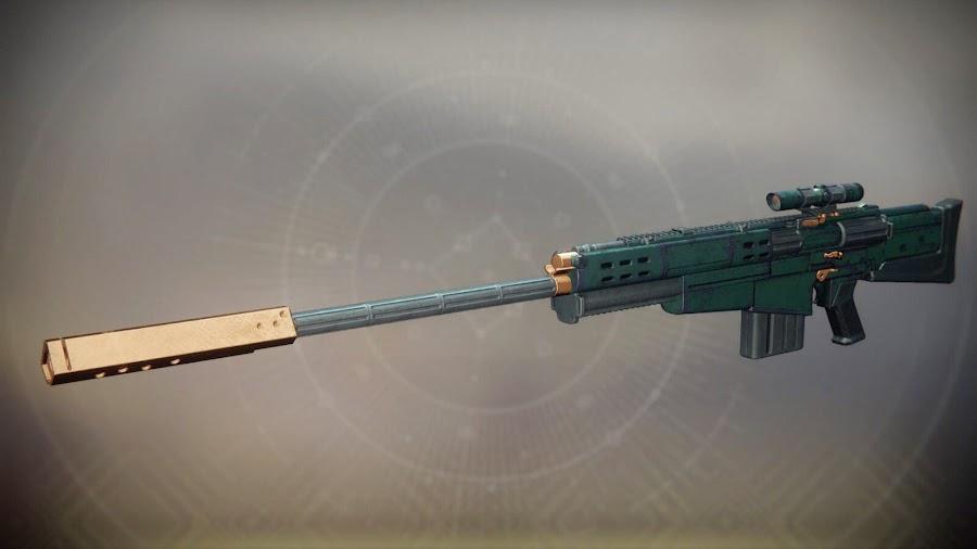 destiny 2 exotic weapon silicon neuroma sniper rifle