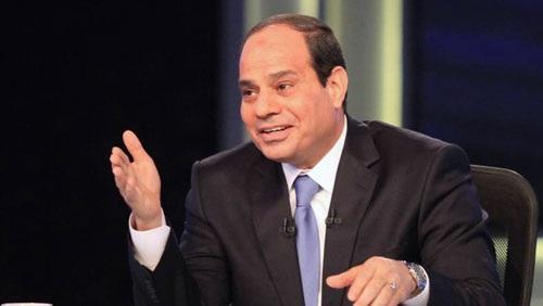 السيسي يجري حوارًا تليفزيونيًا بمناسبة مرور عامين على توليه الرئاسة غدًا