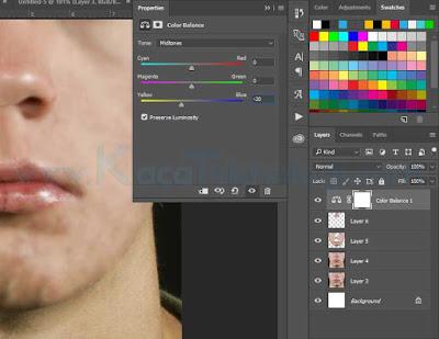 Bagaimana Cara Menghilangkan Jerawat di Photoshop dalam waktu 3 menit - Menghilangkan jerawat menggunakan Adobe Photoshop sangatlah mudah dan hal ini bisa dilakukan dalam waktu yang singkat. Cara ini juga sekaligus membahas tentang cara menghaluskan wajah di Photoshop. Adapun tools yang digunakan untuk menghilangkan jerawat dan menghaluskan wajah adalah menggunakan Spot Healing Brush Tool, Smudge Tool, Clone Stamp Tool, Blur dan sedikit gradiasi warna.