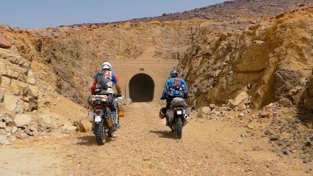 Il tunnel di Choum (ingresso Sud)