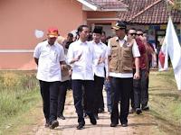 Presiden Joko Widodo tinjau langsung pendidikan mitigasi bencana