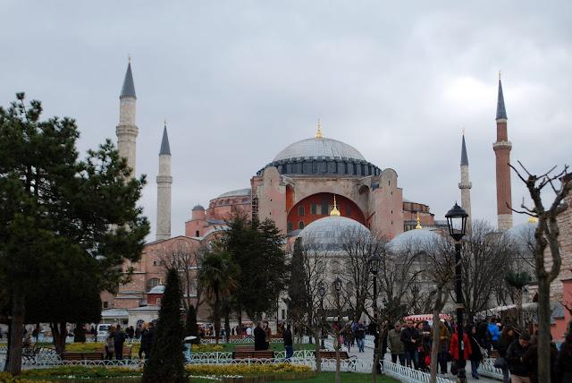 Собор Святой Софии, Айя-София, Стамбул, Турция.