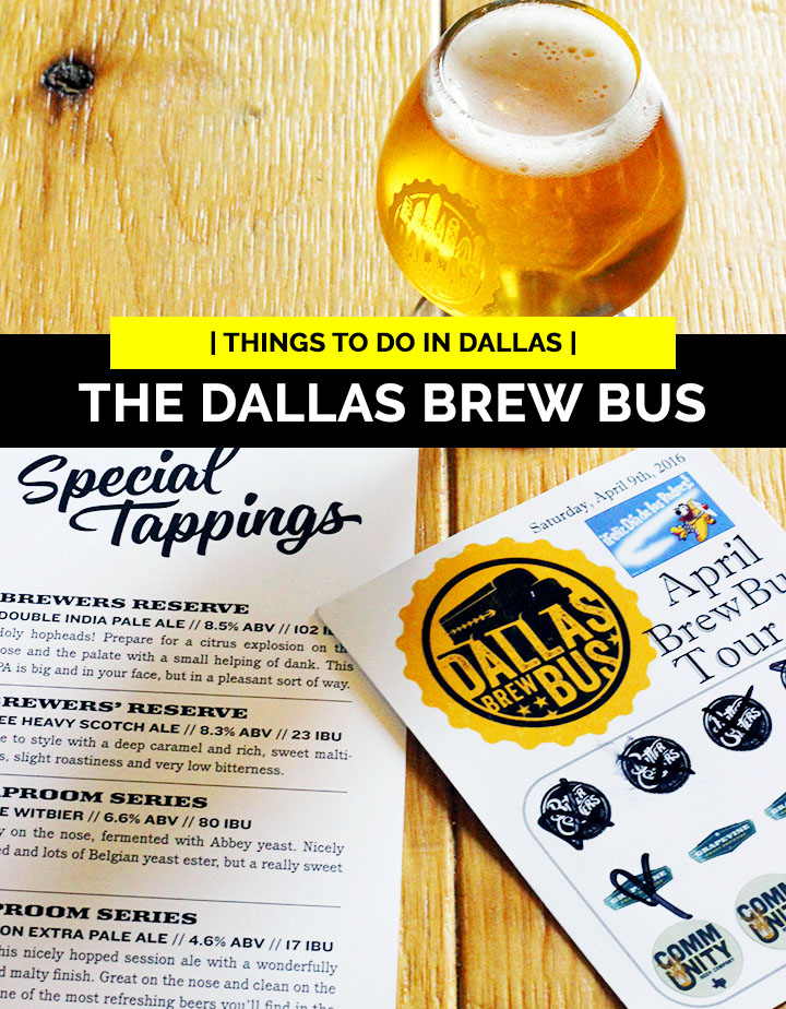 Things to do in dallas, The Dallas Brew Bus
