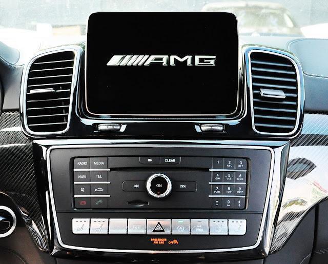 Mercedes AMG GLS 63 4MATIC trang bị hệ thống giải trí  hiện đại