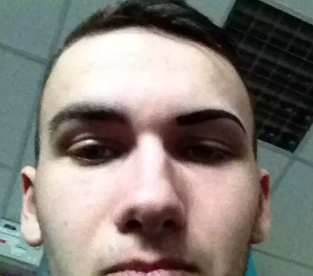 Man Drew His Eyebrow Back On After Shaving It Off Before ...