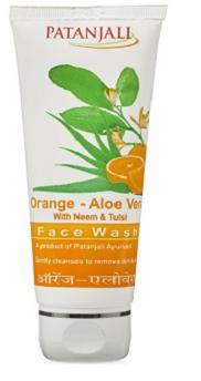 Patanjali Orange Aloe Vera Face Wash (Patanjali products)