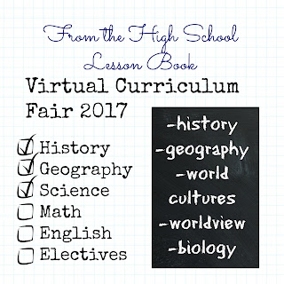 What a Wonderful World - Virtual Curriculum Fair Week 4 on Homeschool Coffee Break @ kympossibleblog.blogspot.com   #hsCurriculumFair #homeschool #history #geography #science #curriculum