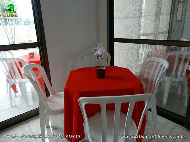 Toalhas de tecido coloridas para mesa dos convidados