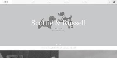 design web keren Scottie & Russell