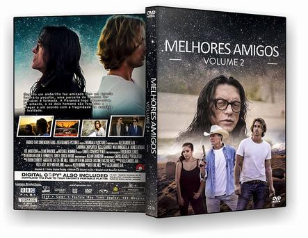 CAPA DVD – Melhores Amigos Volume 2 – AUTORADO