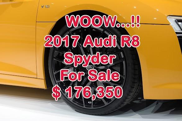 2017 Audi R8 Spyder for sale $ 176,350