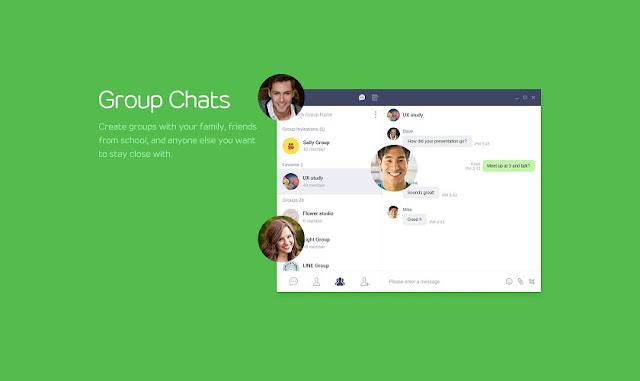 Cara Membuat Grup di LINE dengan Singkat