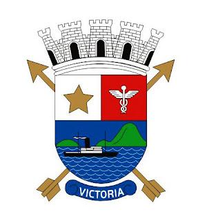 Brasão de Vitória. Fonte: site oficial da Prefeitura Municipal de Vitória