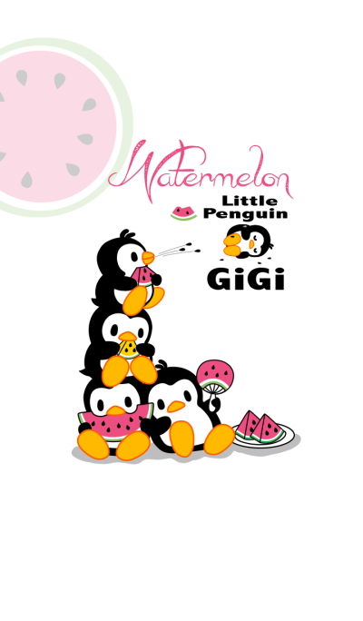 Little Penguin Gigi - Watermelon