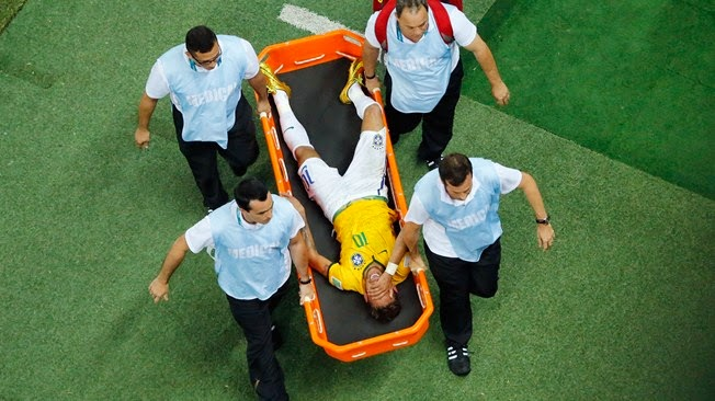 Neymar is injured