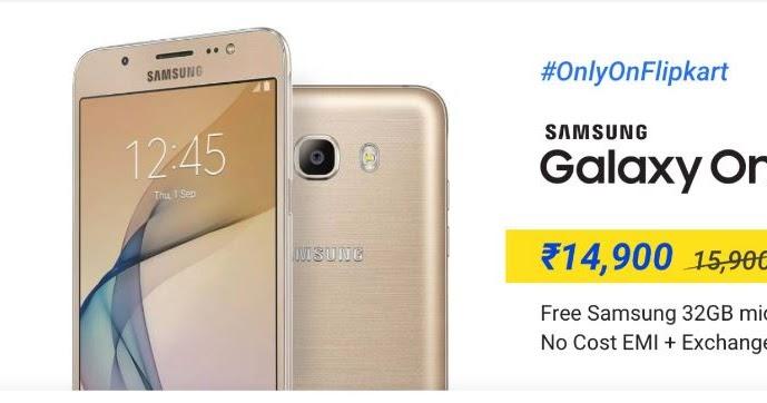 online store e2902 d9963 Samsung Galaxy On8 at Rs 14,900 on Flipkart - Tech Updates