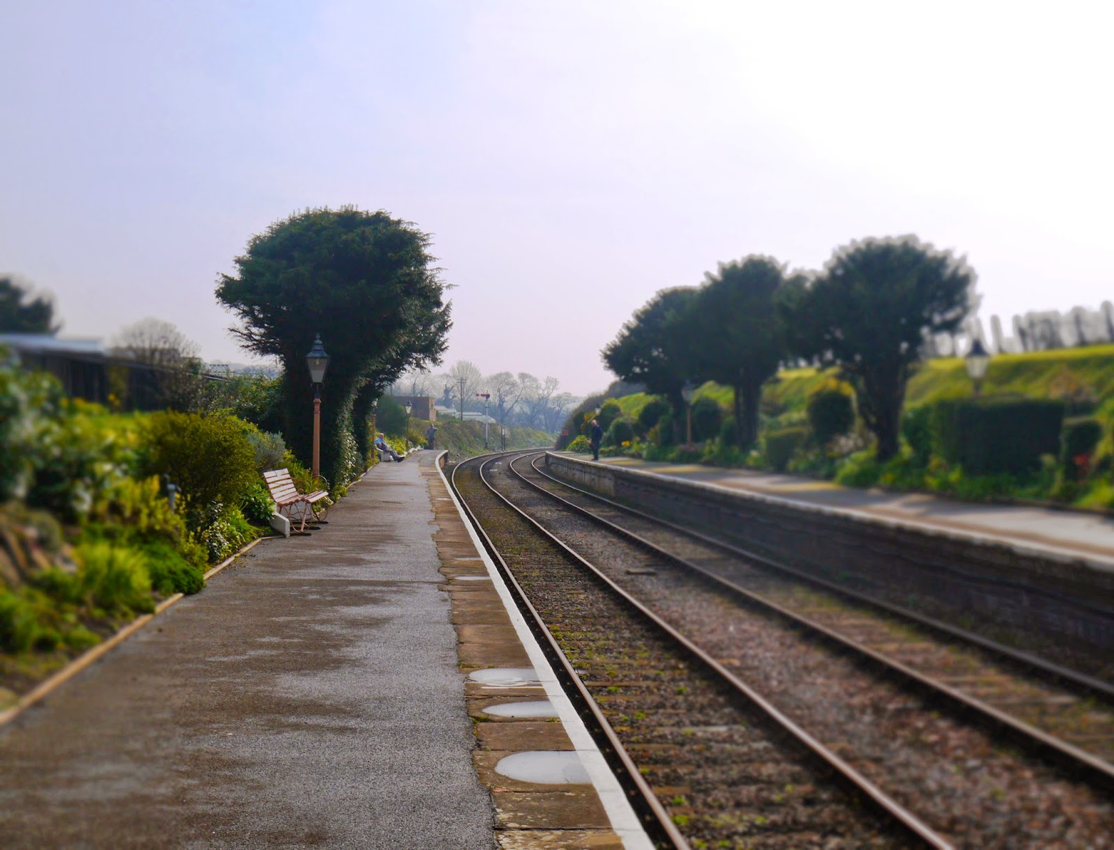 Blue Anchor Station Platform