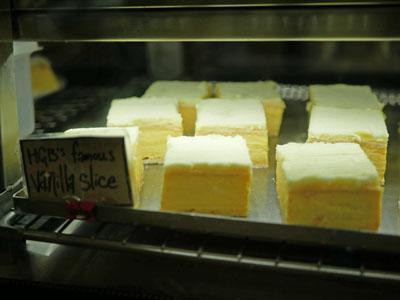 Aldinga's Home Grain Bakery Vanilla Slice