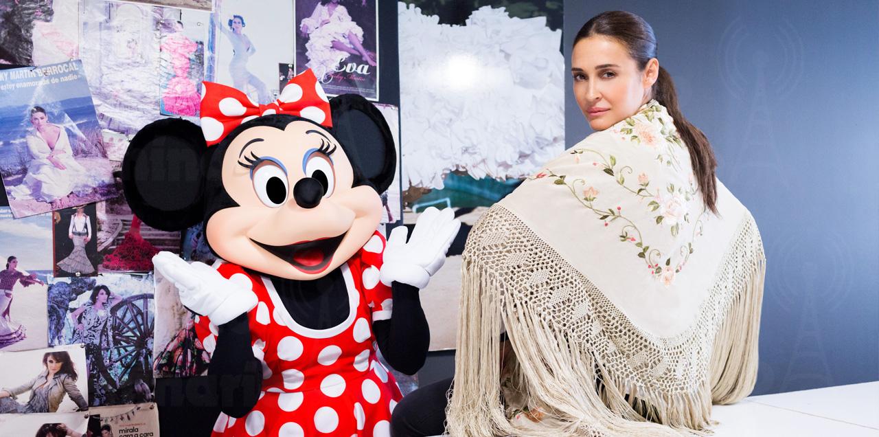 Vicky Martín Berrocal diseña con Minnie Mouse - Radio Seminario