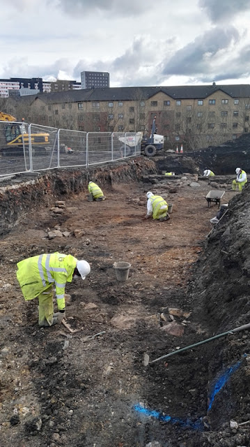 Remains of medieval castle unearthed in Glasgow