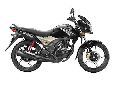 2017 Honda CB Shine SP black color