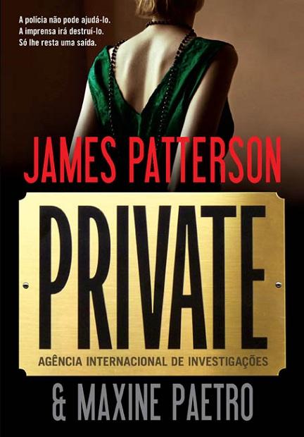 News: Divulgada capa de Private, de James Patterson e Maxine Paetro. 7