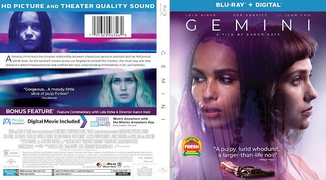 Gemini (scan) Bluray Cover