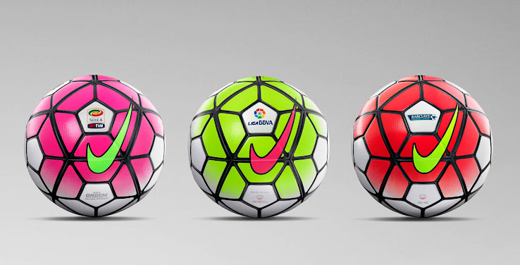 075d566fb The new Nike 2015-2016 Football introduces a striking design for the  2015-16 campaign, set to be used in the Premier League, La Liga, Serie A  and various ...