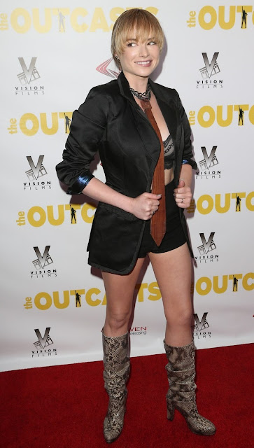 """Red Carpet Dresses: Ashley Rickards - """"The Outcasts ..."""