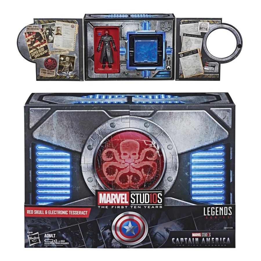 fd542208777a San Diego Comic-Con 2018 Exclusive Marvel Studios  The First Ten Years Red  Skull