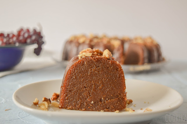 Halva with Whole Wheat Flour and Grape Molasses