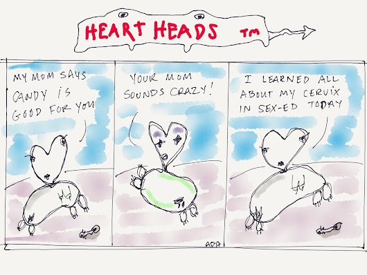 Heart Heads #69 Wink Wink