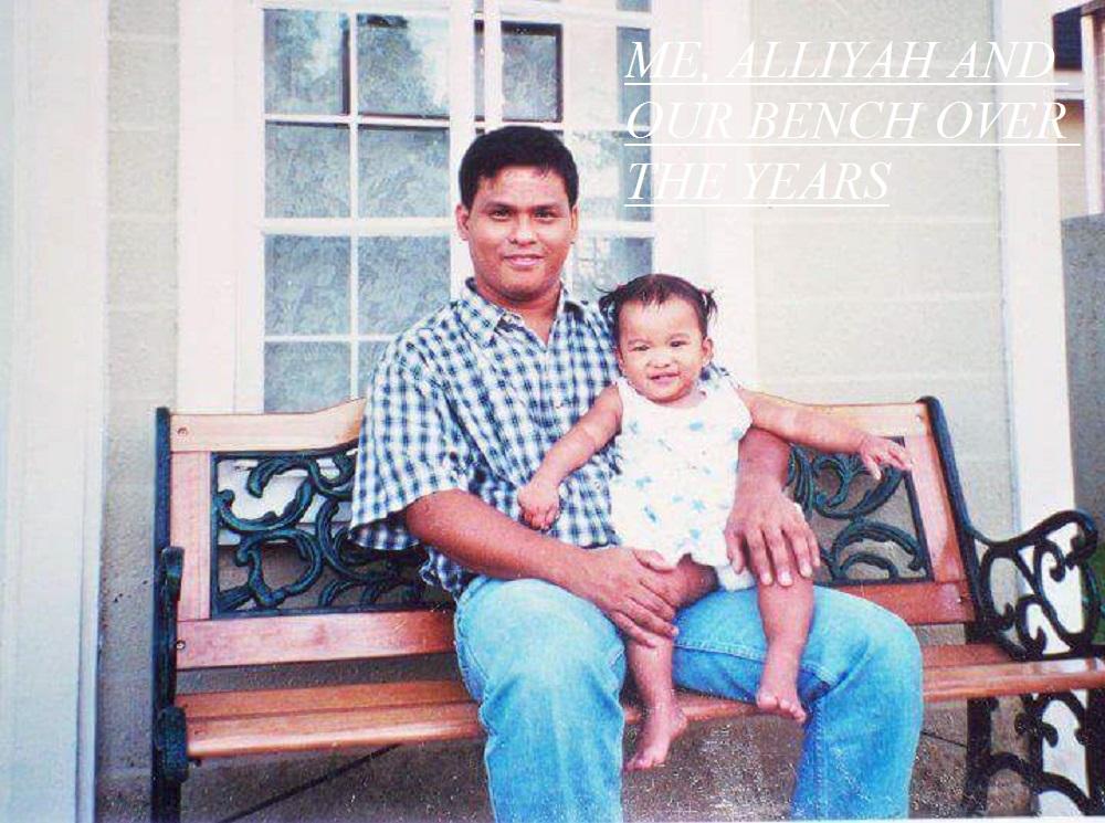 Father and daughter portrait, Filipino family, Filipino parents