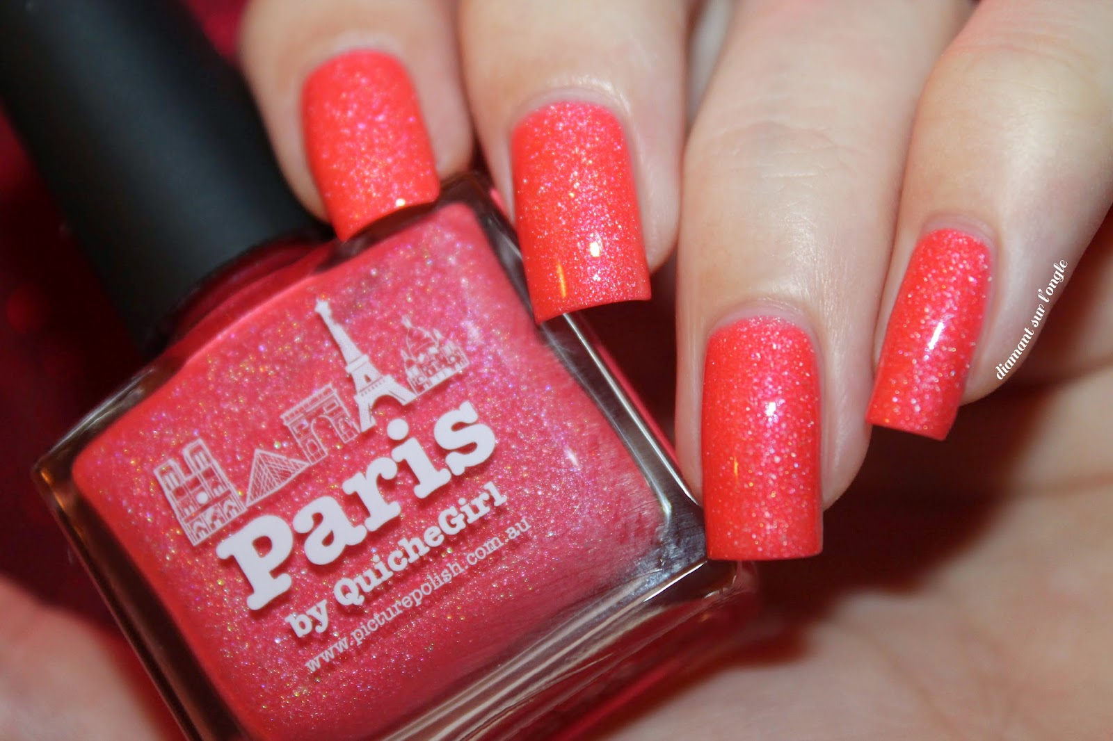 "Swatch of the nail polish ""Paris"" from Picture Polish"